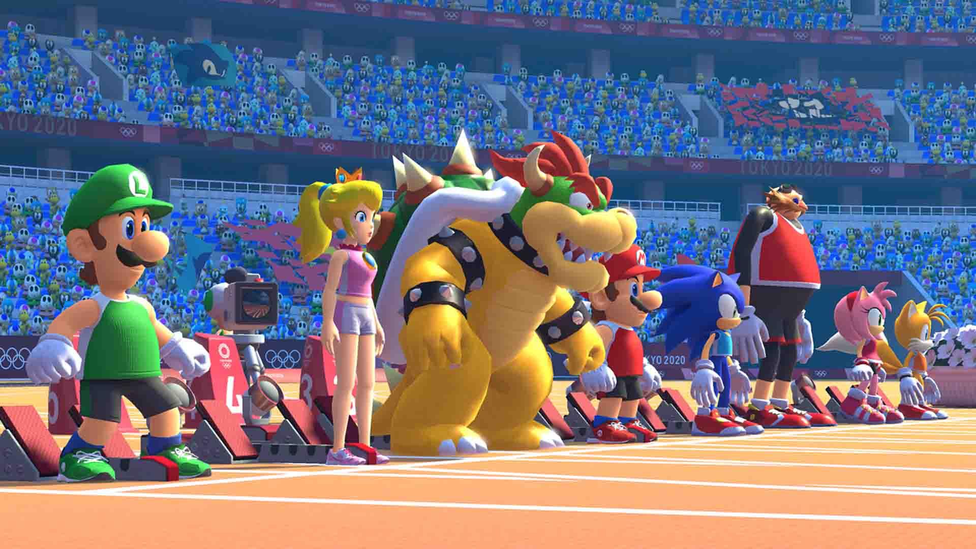 Mario & Sonic at the Olympic Games Tokyo 2020 - Nintendo Switch - ENVIO INTERNACIONAL