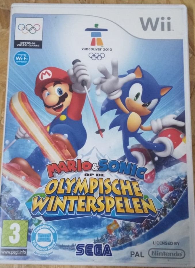 Mario & Sonic at the Olympic Games - USADO - Nintendo Wii