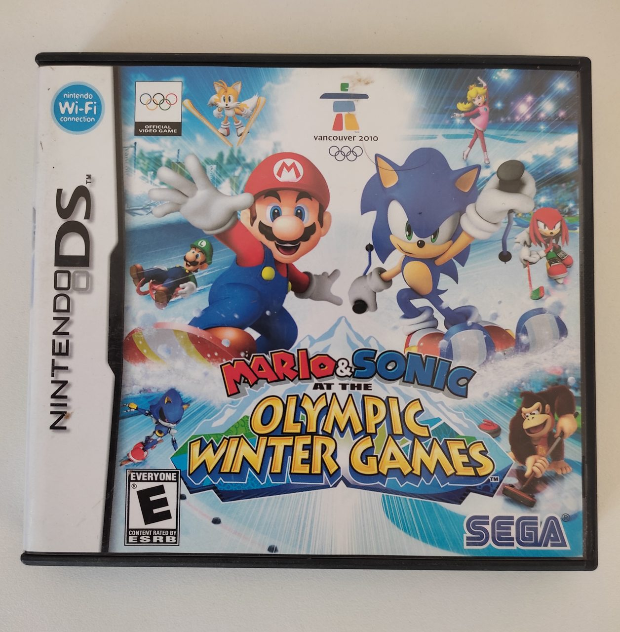 Mario & Sonic at the Olympic Winter Games 2010 - Nintendo DS - Usado