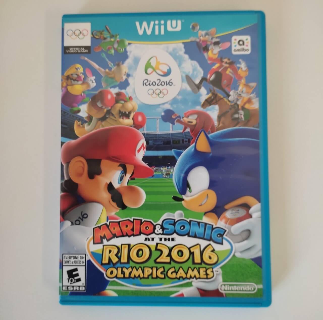 Mario & Sonic at the Rio 2016 Olyimpic Games - Nintendo Wii U - Usado