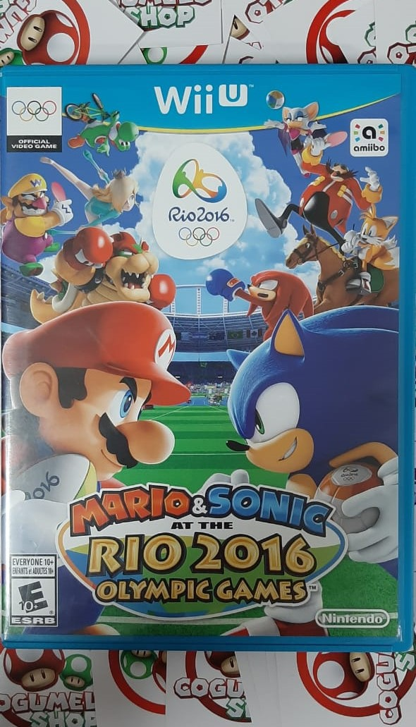 Mario & Sonic at the Rio 2016 Olympic Games - USADO - Nintendo Wii U