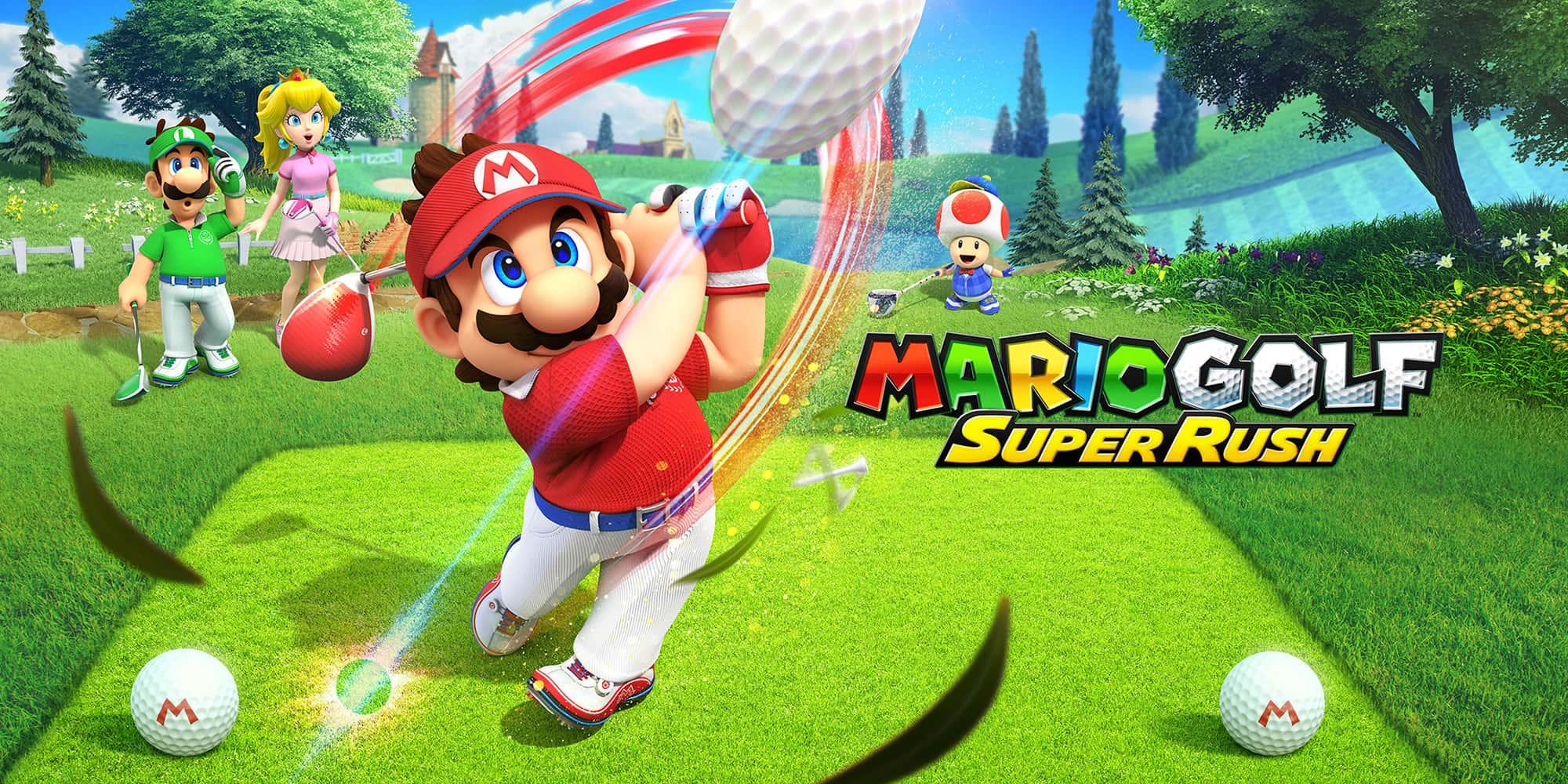Mario Golf: Super Rush - Nintendo Switch - Pré Venda - LISTA DE ESPERA