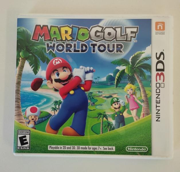Mario Golf: World Tour - Nintendo 3DS - Usado