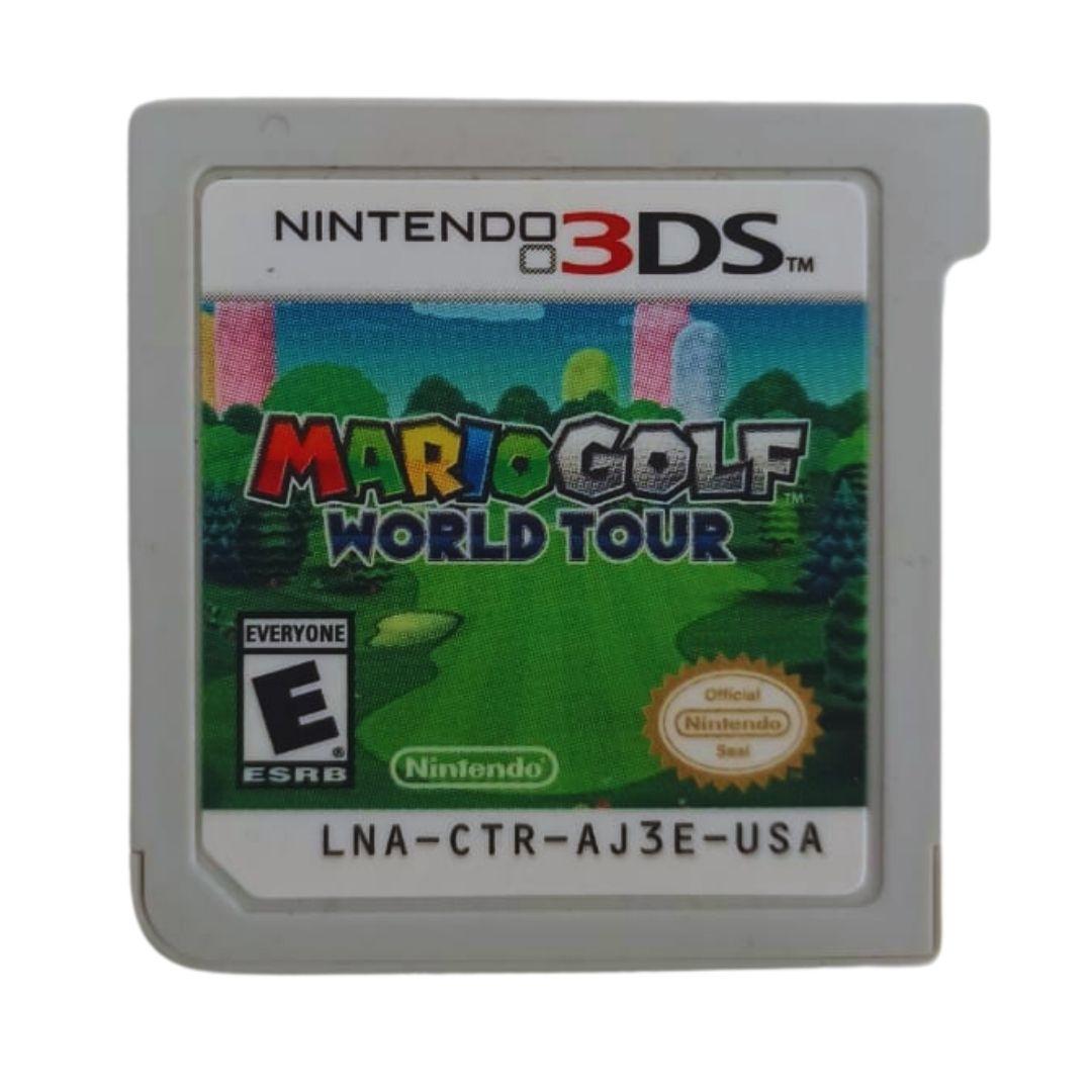Mario Golf: World Tour - Nintendo 3DS - Usado - Cartucho