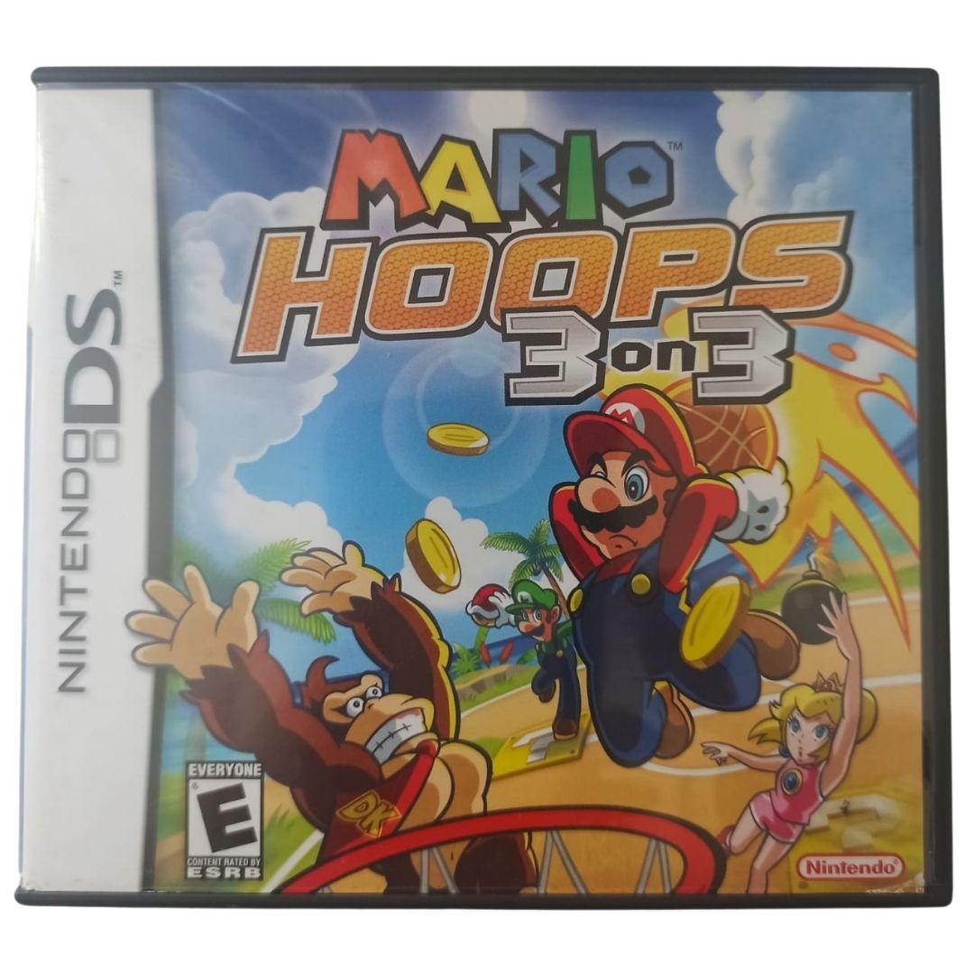 Mario Hoops: 3 on 3 - Nintendo DS - Usado