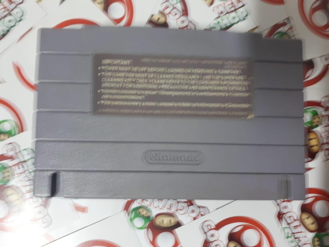 Mario Is Missing! - USADO - Super Nintendo