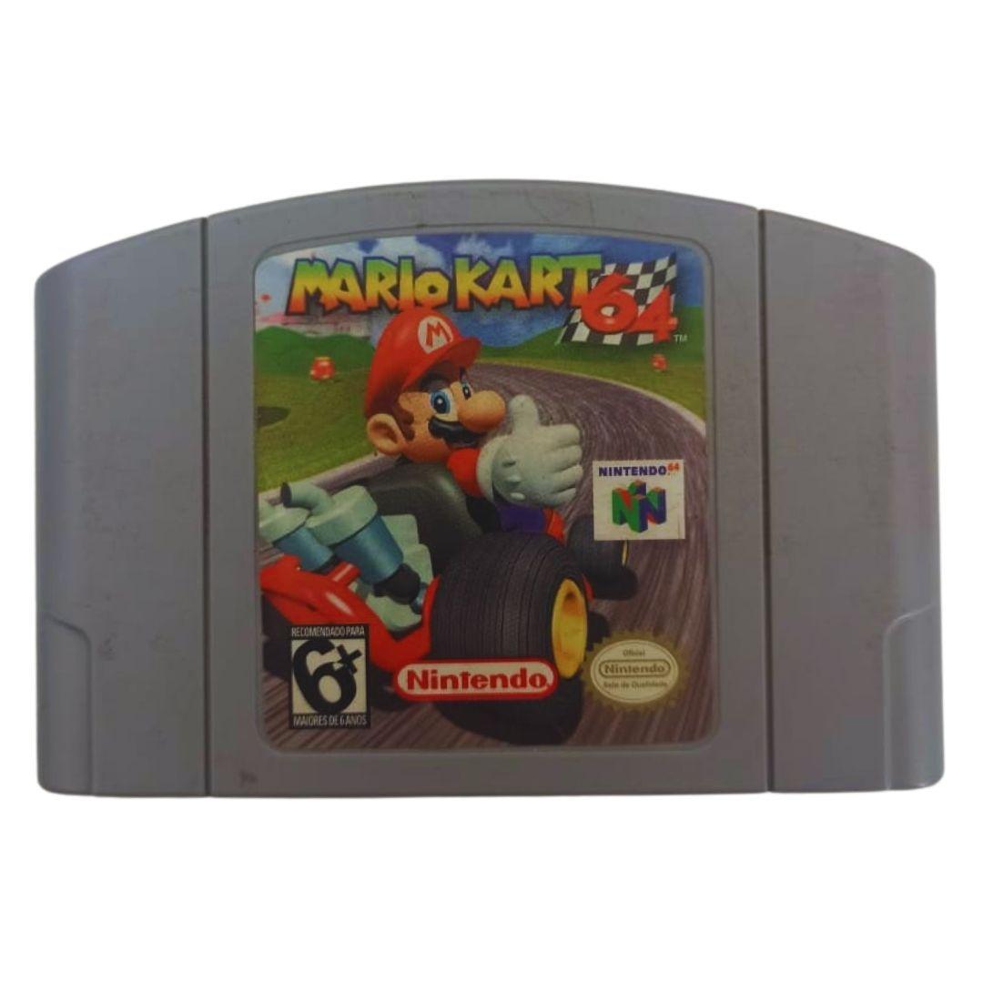 Mario Kart 64 - Nintendo 64 - Usado