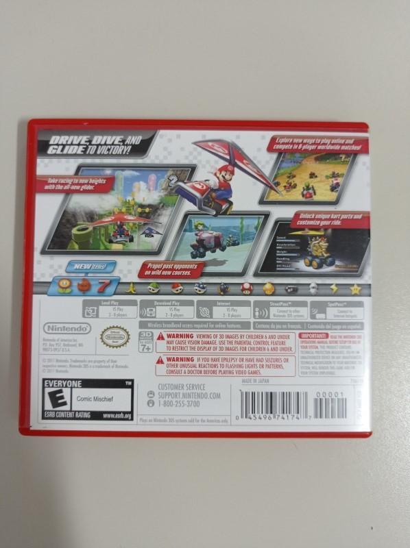 Mario Kart 7 - USADO - Nintendo 3DS