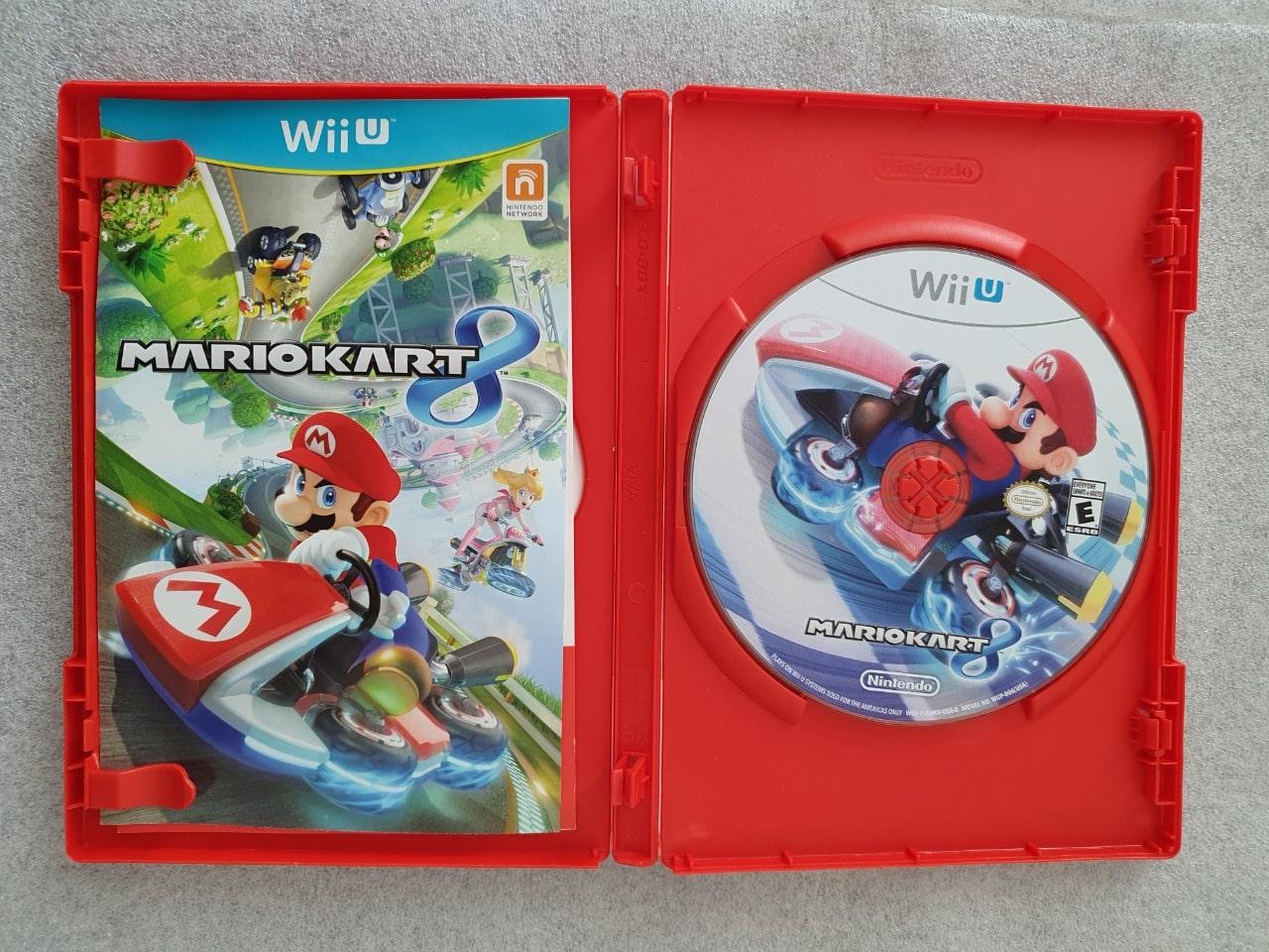 Mario Kart 8 - Nintendo Wii U - Usado