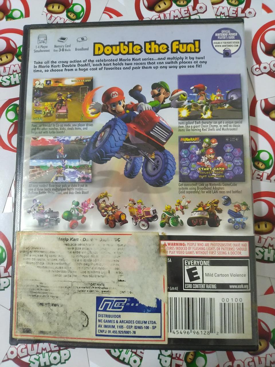Mario Kart Double Dash - USADO - Nintendo GameCube