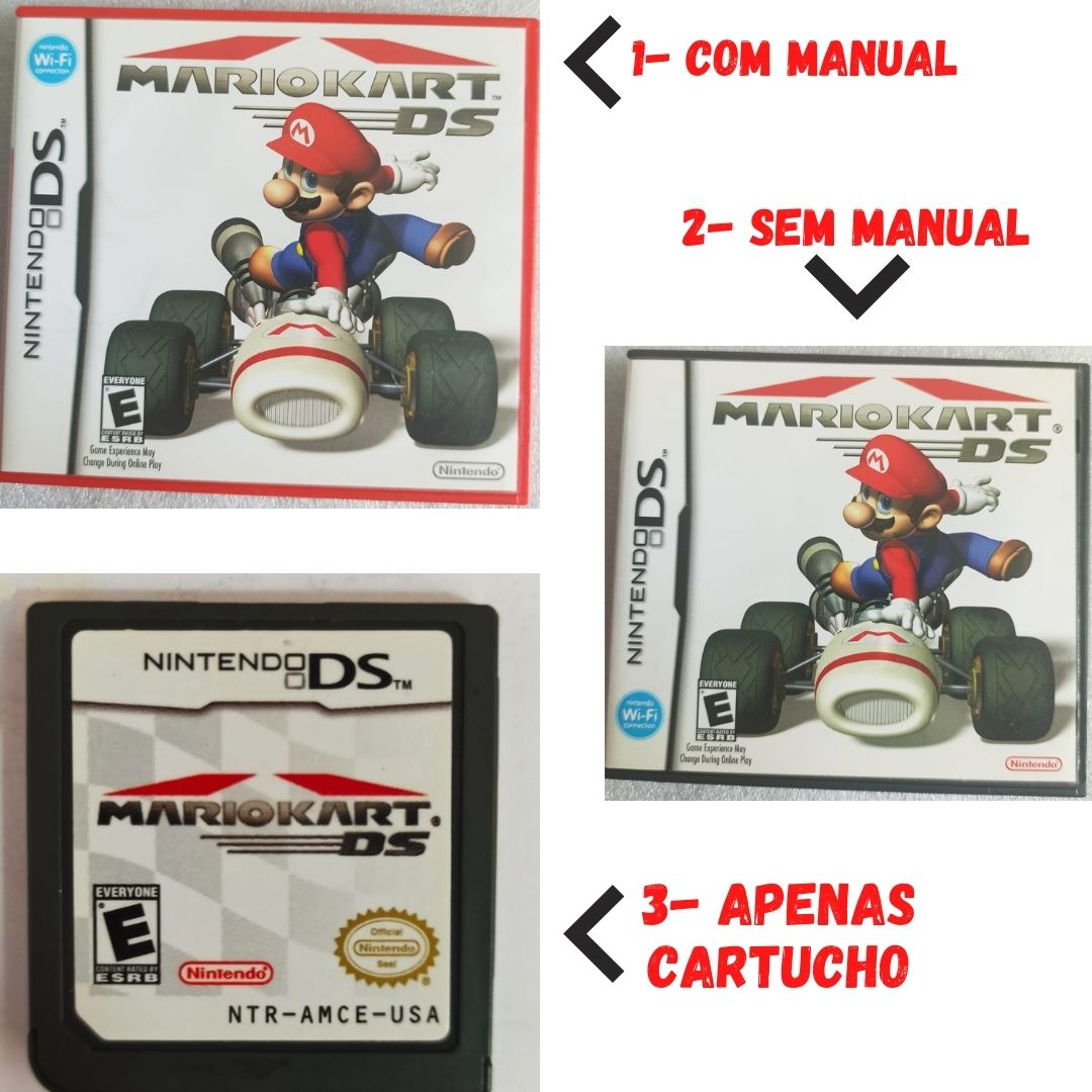 Mario Kart - USADO - Nintendo DS