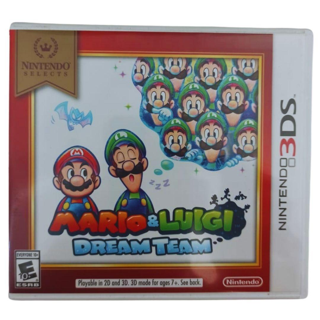 Mario & Luigi: Dream Team - Nintendo 3DS - Usado