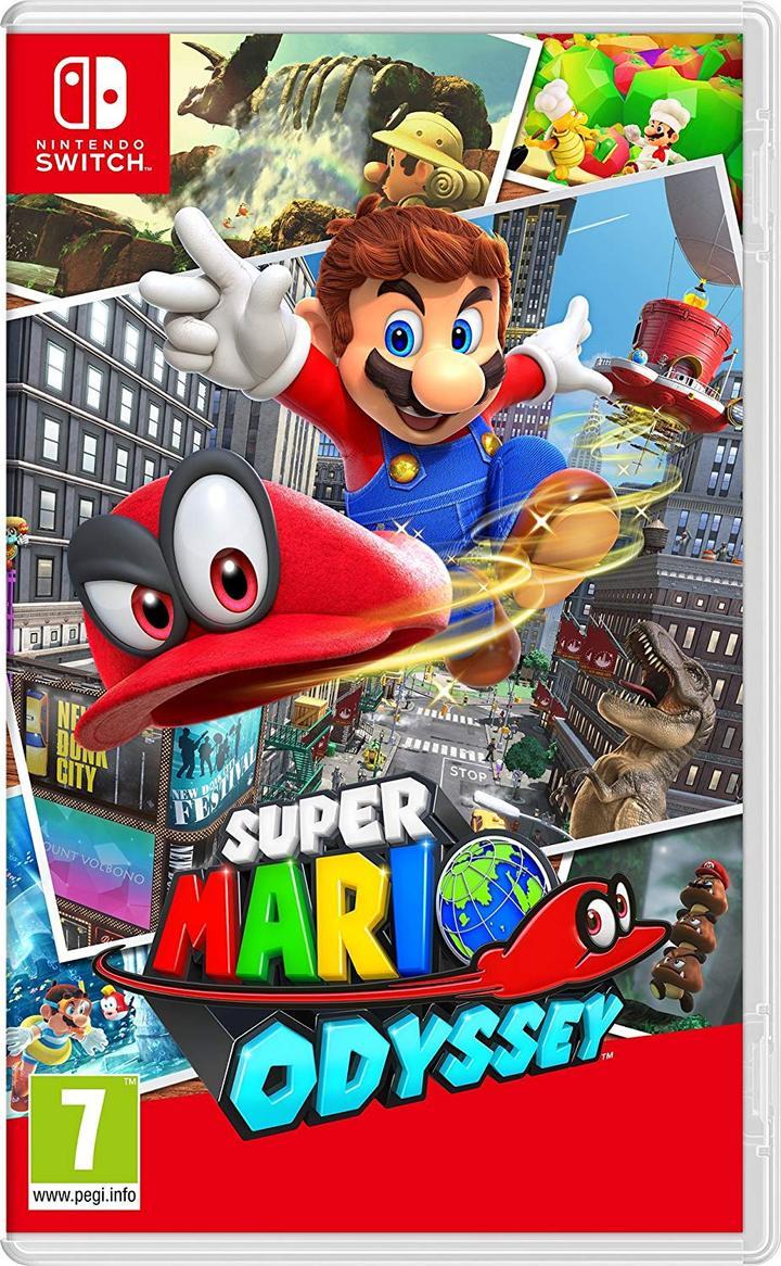 Super Mario Odyssey - Nintendo Switch - Envio Internacional