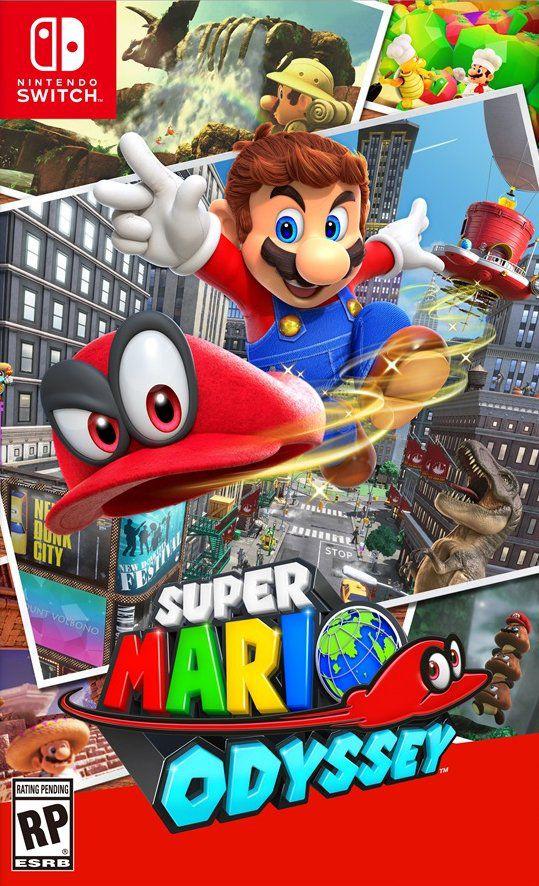 Mario Odyssey - Nintendo Switch - USADO