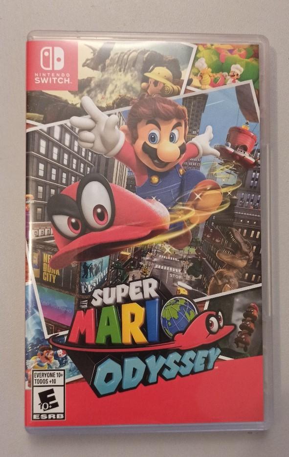 Mario Odyssey - Nintendo Switch - Usado - Frete Grátis