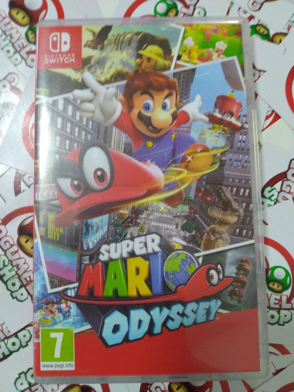 Mario Odyssey (USADO) - Nintendo Switch