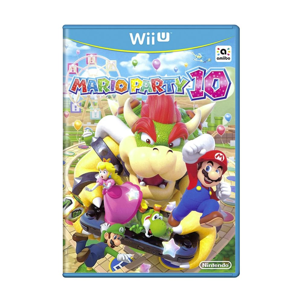 Mario Party 10 - USADO - Nintendo Wii U