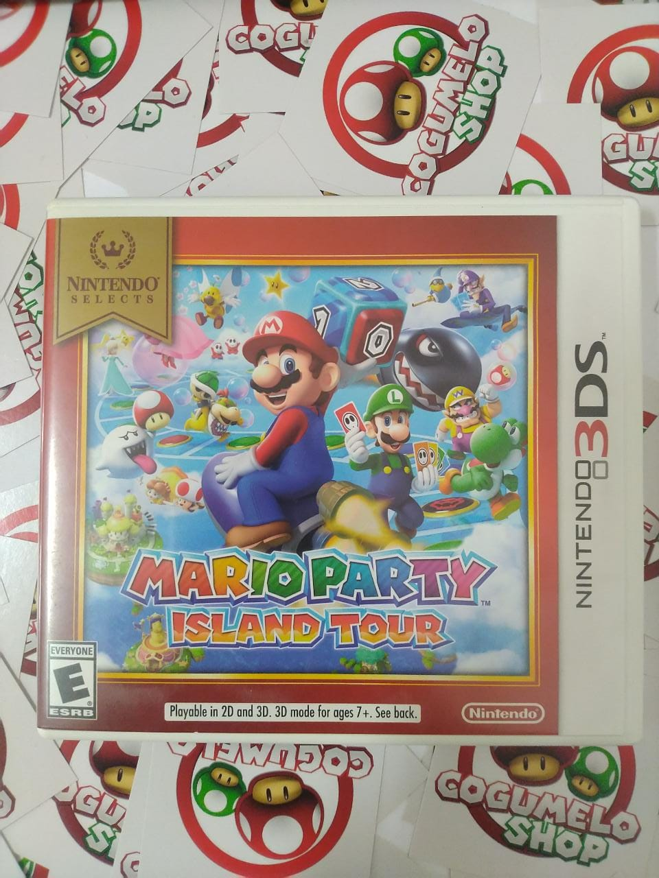 Mario Party Island Tour - USADO - Nintendo 3DS