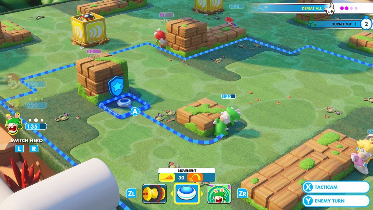 Mario + Rabbids: Kingdom Battle - USADO - Nintendo Switch