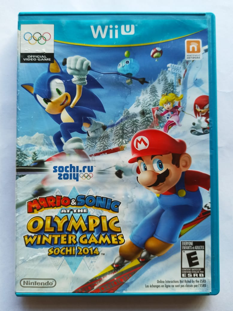 Mario & Sonic at the Olympic Winter Games - USADO - Nintendo Wii U