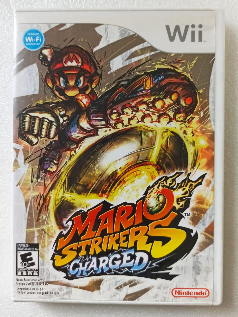 Mario Strikers: Charged - USADO - Nintendo Wii