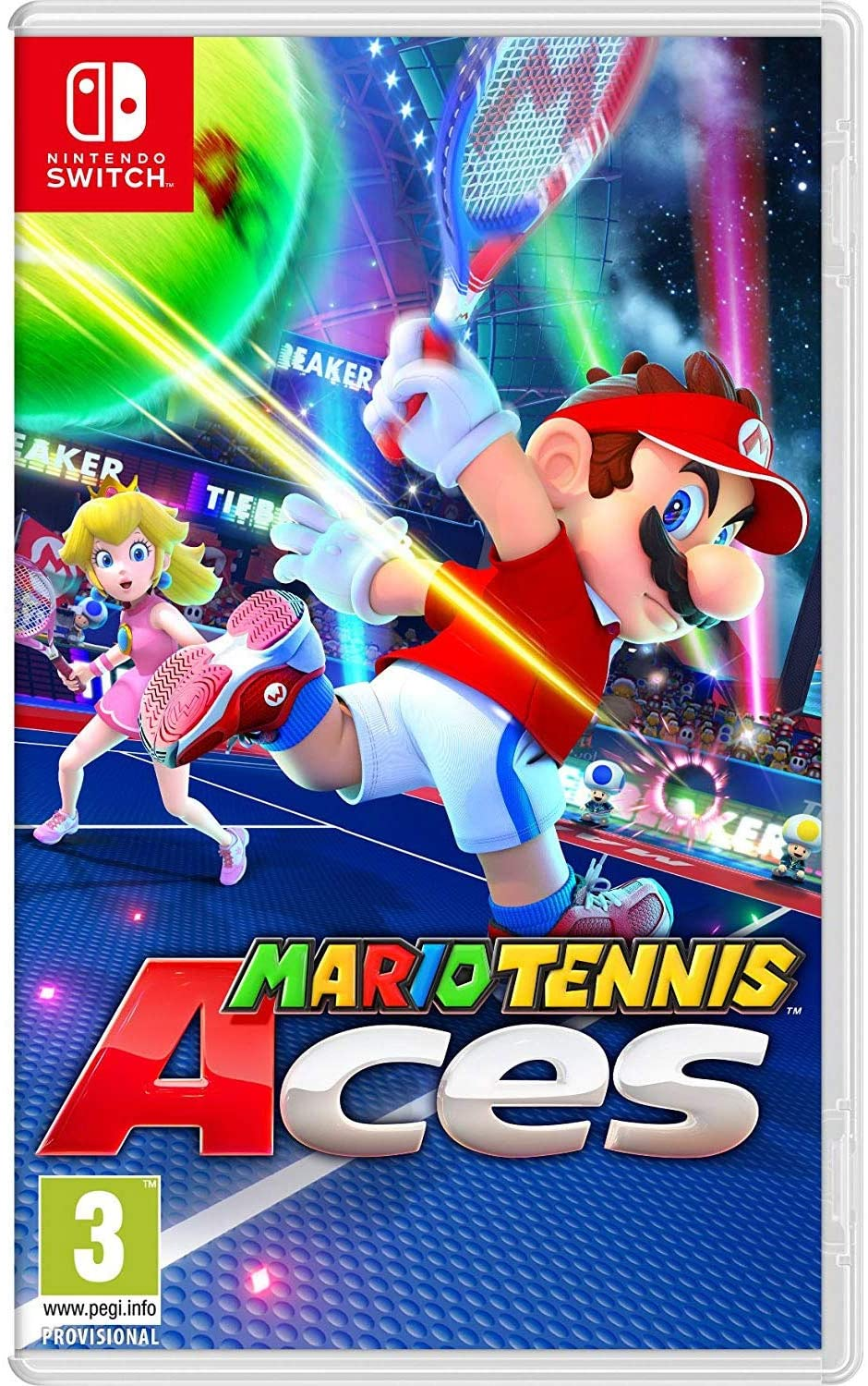 Mario Tennis Aces - Nintendo Switch - ENVIO INTERNACIONAL
