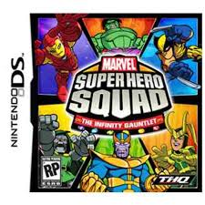Marvel Super Hero Squad: The Infinity Gauntlet (USADO) - Nintendo DS