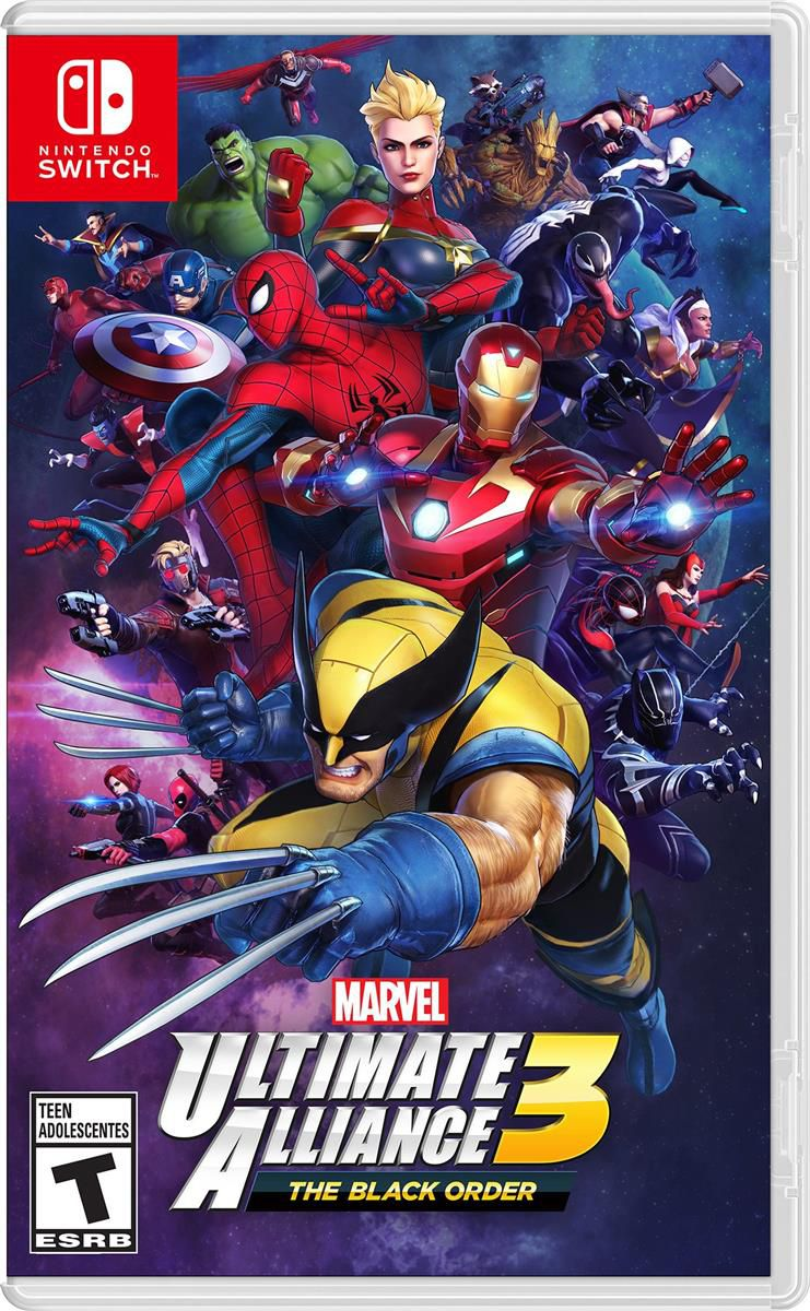 Marvel Ultimate Alliance 3: The Black Order - Nintendo Switch - Envio internacional