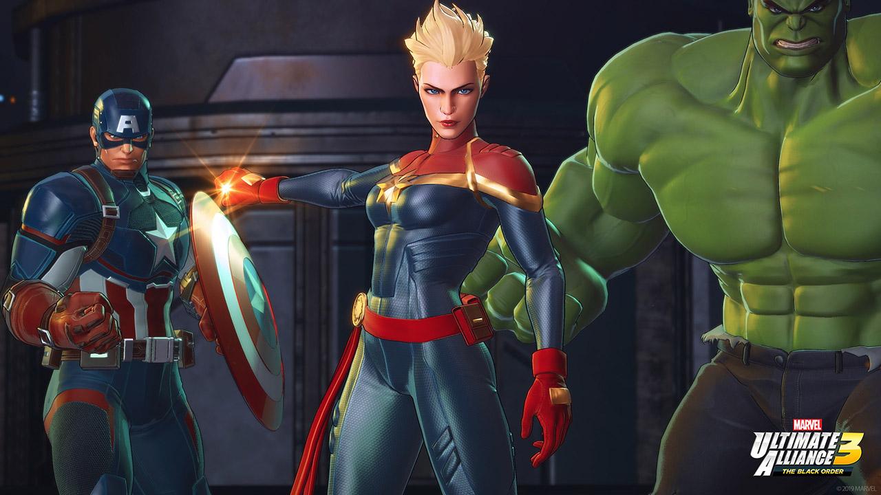 Marvel Ultimate Alliance 3: The Black Order - Nintendo Switch - Envio internacional