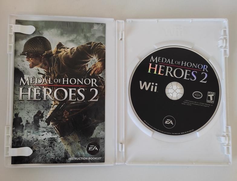 Medal of Honor Heroes 2 - Nintendo Wii - Usado