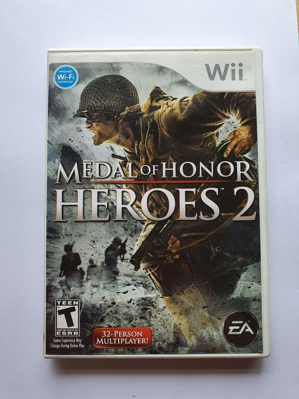 Medal of Honor: Heroes 2 - Usado - Wii