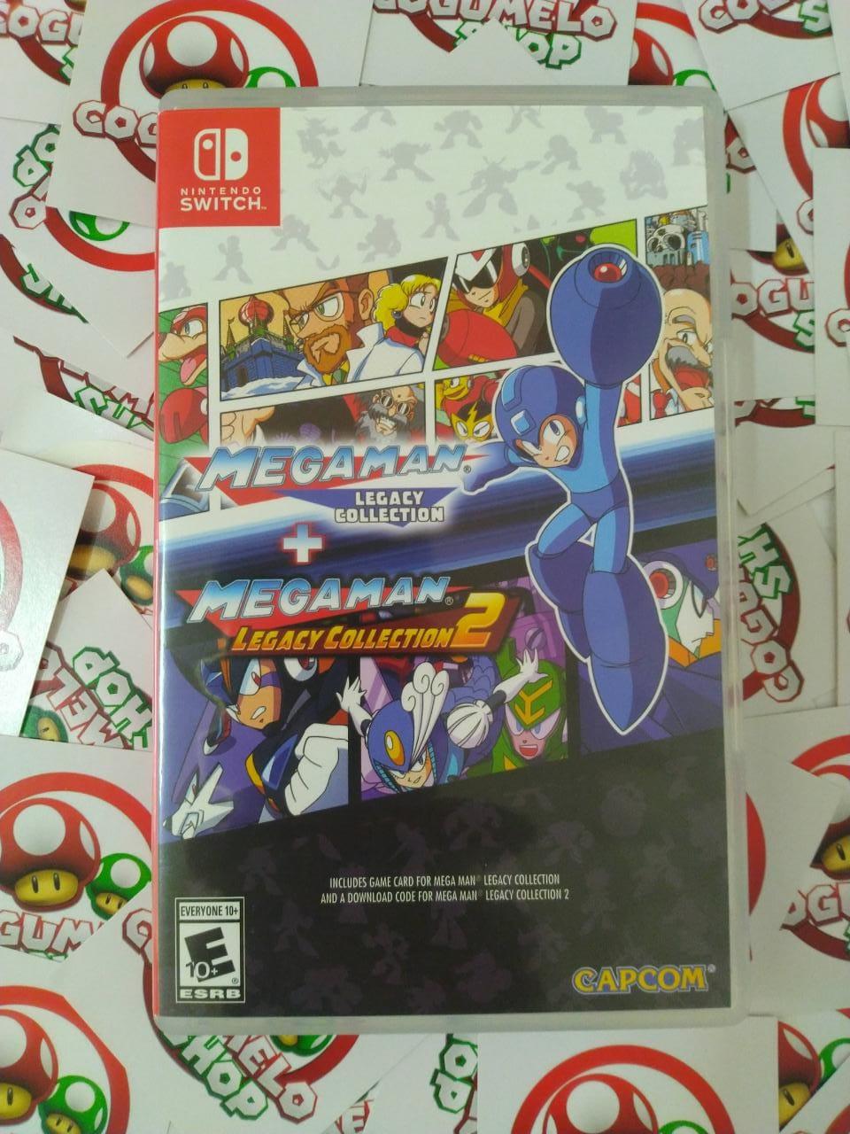 Mega Man Legacy Collection - USADO - Nintendo Switch