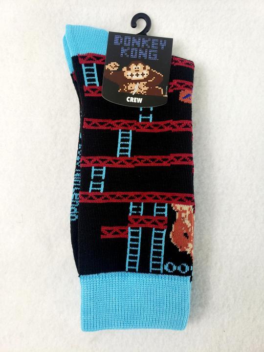 Meias Donkey Kong Classic - Crew Socks (Envio Internacional)