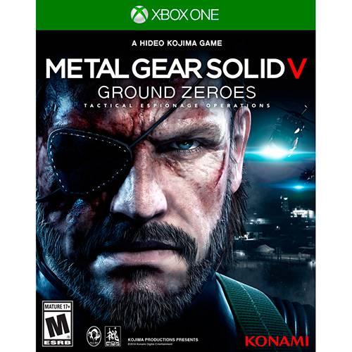Metal Gear Solid V Ground Zeroes - XBOX ONE - USADO