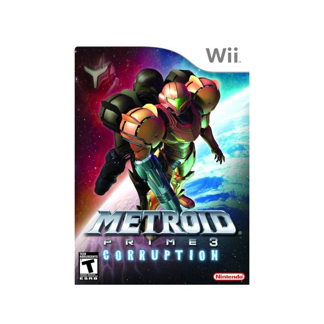 Metroid Prime 3: Corruption - Wii - USADO