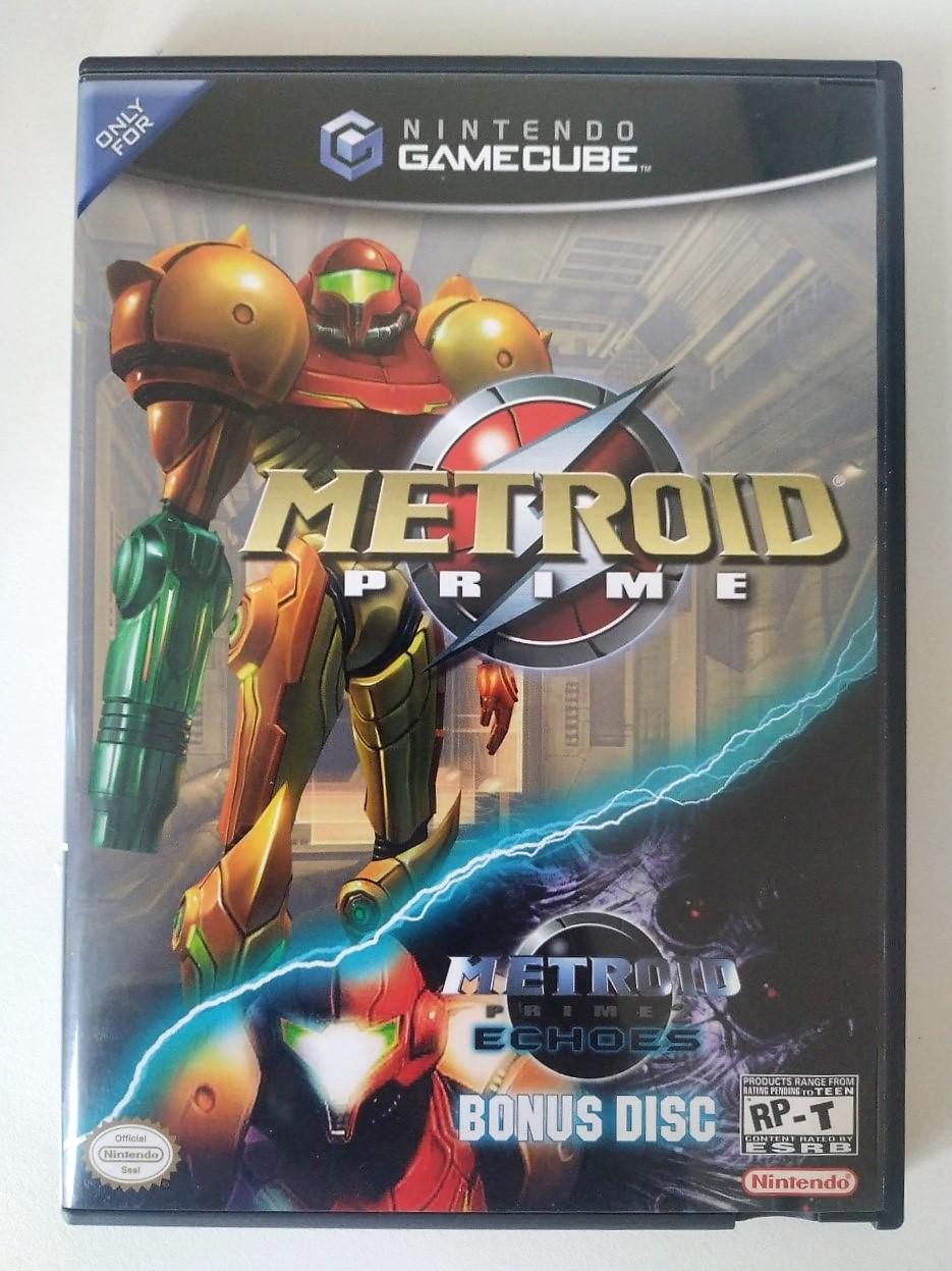 Metroid Prime + Metroid Prime Echoes BONUS DISC - GameCube - Usado