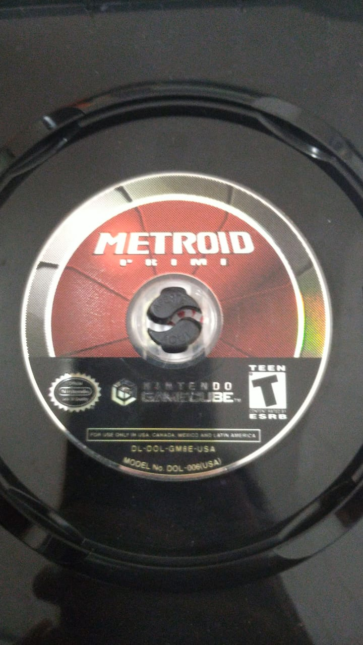 Metroid Prime - USADO - Nintendo GameCube