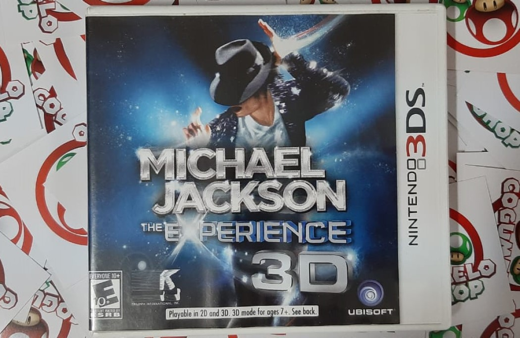 Michael Jackson: The Experience 3D - USADO - Nintendo 3DS