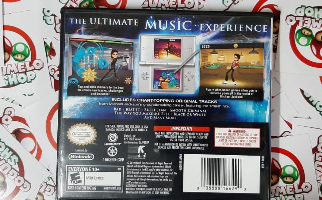 Michael Jackson: The Experience - USADO - Nintendo DS