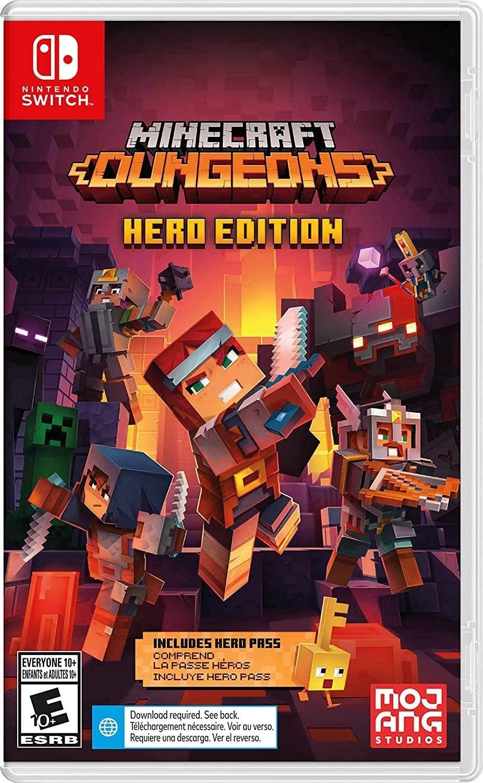 Minecraft Dungeons - Nintendo Switch - Envio Internacional