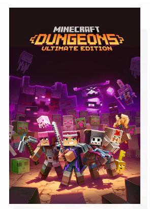 Minecraft Dungeons: Ultimate Edition - Nintendo Switch - Pré Venda - LISTA DE ESPERA