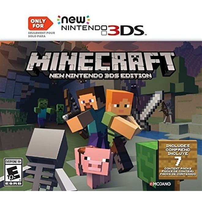 Minecraft New Nintendo - 3DS