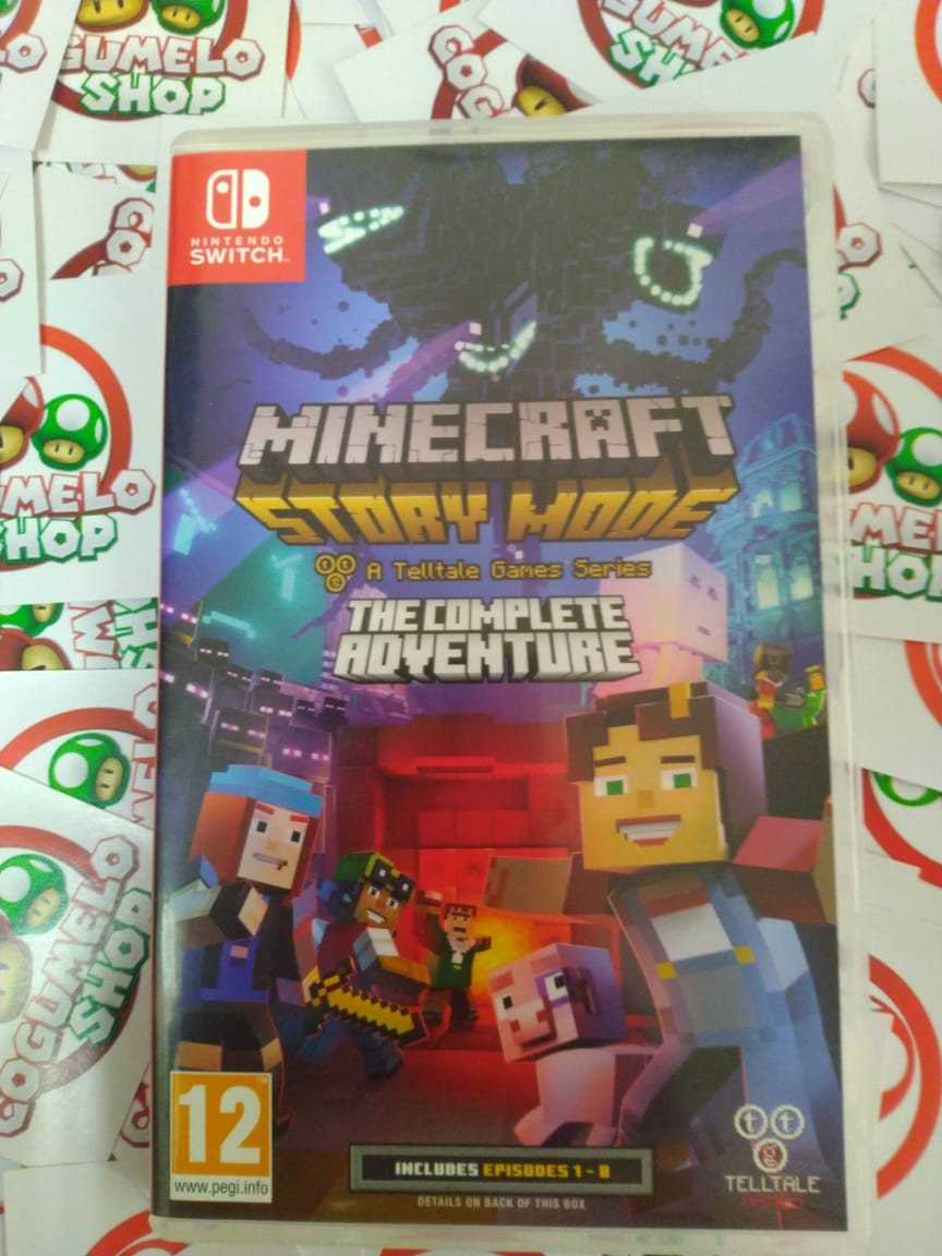 Minecraft: Story Mode - The Complete Adventure - USADO - Nintendo Switch