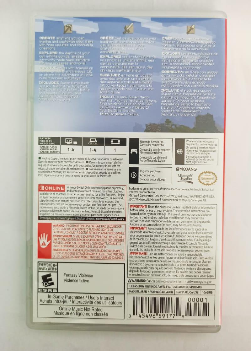 Minecraft - Usado - Nintendo Switch