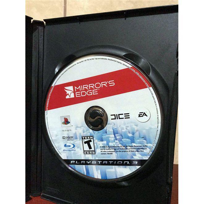 Mirror's Edge - PS3 - USADO - ORIGINAL - S/ CAIXA