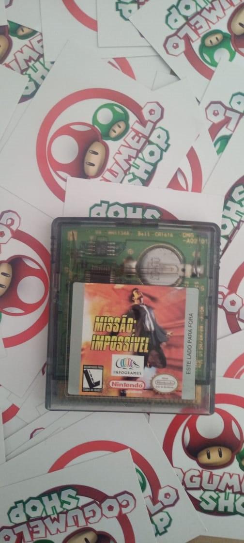 Missão Impossível - USADO - Nintendo Game Boy Color