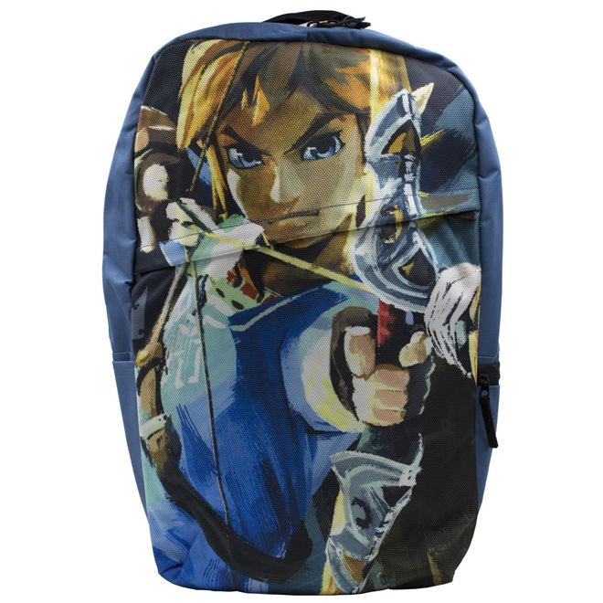 Mochila - The Legend of Zelda BOTW - Azul Claro