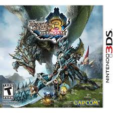 Monster Hunter 3 Ultimate Edition - Nintendo 3DS USADO
