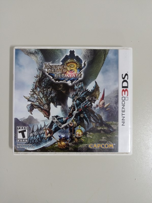Monster Hunter 3 - USADO - Nintendo 3DS