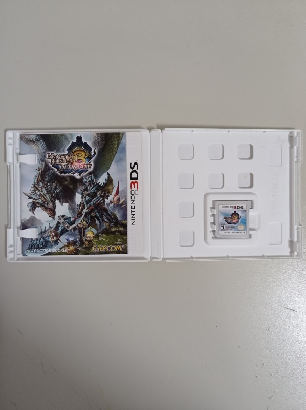 Monster Hunter 3 - USADO - Nintendo 3DS